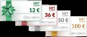 Clicca per acquistare la GIFT CARD
